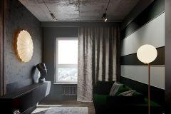 apartament-w-warszawie-styl-loftowy-i-art-deco-cegła-w-salonie-Artystyczny-Żoliborz-kuchnia-guest-room