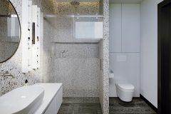 łazienka-w-lastrico-skadynawskie-z-wykorzystaniem-zieleni-odważny-styl-nowoczesny-otwarte-przestrzenie-Jedlicze-B