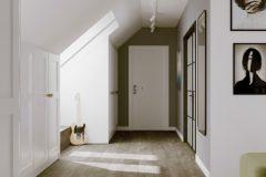 17_-korytarz-ze-skosem-Łódź-połączenie-stylu-japandi-z-naturalnymi-materiałami-łazienka-OSOM-group-bathroom-łódź