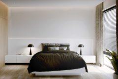 5-minimalistyczna-sypialnia-drewno-i-biel-oświetleie-w-sypialni-szafki-nocne-min