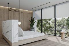 13-2-minimalistycz-sypialniaw-stylu-japandi-wnętrze-w-duchu-Vastu-shastra-styl-japandi-proejkt-OSOM-group-marmur-drewno-wnętrze-w-duchu-Vastu-ShatsraWarszawa-Hamptons-design