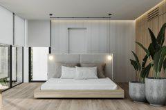 13-minimalistycz-sypialnia-w-stylu-japandi-wnętrze-w-duchu-Vastu-shastra-styl-japandi-proejkt-OSOM-group-Warszawa-Hamptons-interior-design