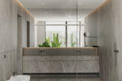 17-minimalistyczna-łazienka-w-kolorach-ziemi-łązienka-w-stylu-spa-proejktu-OSOM-group-Warszawa-Hamptons-bathroom-interior-design-OSOM-group