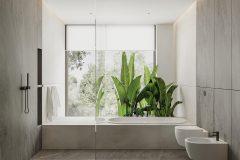 18-2-minimalistyczna-łazienka-w-kolorach-ziemi-łązienka-w-stylu-spa-proejktu-OSOM-group-Warszawa-Hamptons-bathroom-interior-design-OSOM-group