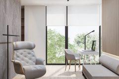 23-minimalistycz-gabinet-stylu-japandi-wnętrze-w-duchu-Vastu-shastra-styl-japandi-proejkt-OSOM-group-Warszawa-Hamptons-naturalne-materiały-interior-design-OSOM-group