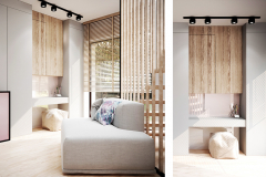 4_-wnętrze-z-dużym-salonem-skandynawski-styl-jasne-drewno-z-czarnymi-dodatkami-mieszkanie-Grodzisk-Mazowiecki