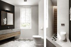 7_-wnętrze-z-dużym-salonem-skandynawski-styl-jasne-drewno-z-czarnymi-dodatkami-mieszkanie-Grodzisk-Mazowiecki