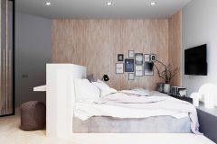 9_-wnętrze-z-dużym-salonem-skandynawski-styl-jasne-drewno-z-czarnymi-dodatkami-mieszkanie-Grodzisk-Mazowiecki