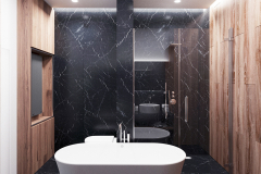 10-minimalistyczny-styl-wnetrza-z-duża-część-dzienną-_-dominuje-czarny-i-grafitowy-oraz-jasne-drewno-mieszkanie-w-Warszawie