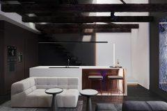 2-uksusowy-apartament-Łódż-styl-nowoczesny-dizajnerskie-wnętrza-luksusowe-strefa-dzienna