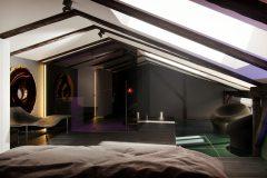 3-uksusowy-apartament-Łódż-styl-nowoczesny-dizajnerskie-wnętrza-luksusowe-sypialnia-z-otwartą-łązienką
