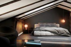 9-luksusowy-apartament-Łódż-styl-nowoczesny-dizajnerskie-wnętrza-luksusowe-sypialnia