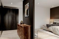 5-sypialnmia-miminalistyczne-wnętrze-w-stylu-japandi-wykorzystanie-naturalnych-materiałów-w-kolorze-ziemi-orginalny-luksusowy-design-Łódź