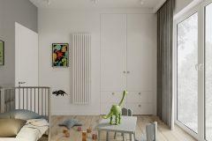 chłopiec-3-miminalistyczne-wnętrze-w-stylu-japandi-wykorzystanie-naturalnych-materiałów-w-kolorze-ziemi-Łódź