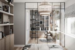 10-styl-skandynawski-w-gabinecie-wnętrza-naturalne-materiały-wykorzystanie-kolorów-ziemi-jasne-wnętrza-warszawa