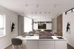 5_-złote-dodatki-we-wnętrzu-styl-art-deco-i-mnimalistyczny-ciekawe-połączenie-kolorów-mieszkanie-w-Warszawie