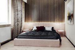 11-nowowczesne-nawiazanie-do-stylu-vintage-_-apartamentowiec-w-Warszawie-jasne-wnętrze-z-mocnymi-dodatkami-czerni-i-bordo