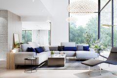 13-dom-w-stylu-minimalistycznym-dom-w-Łódzi-dzielnica-Popioły-dzieła-sztuki-i-luksusowe-dodatki-do-wnętrz-dom-otwierający-się-na-las